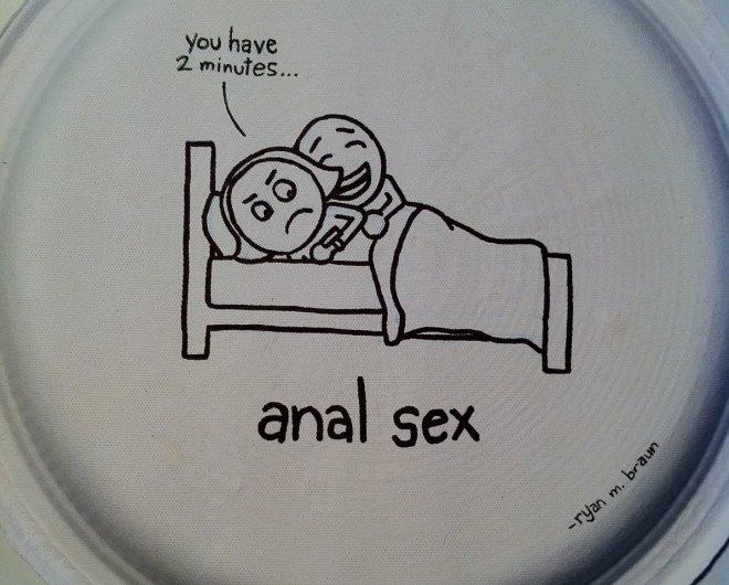 AnalSexPaperPlate